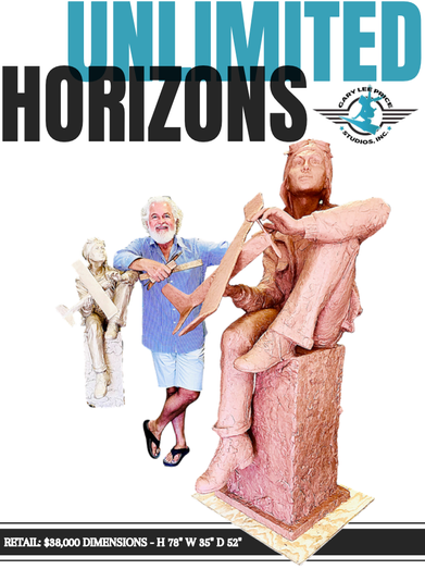 Unlimited Horizons precast  (Larger-than-life-size)