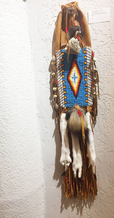 Native Beaded Pipe Bag