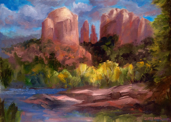 Cathedral Rock Aglow