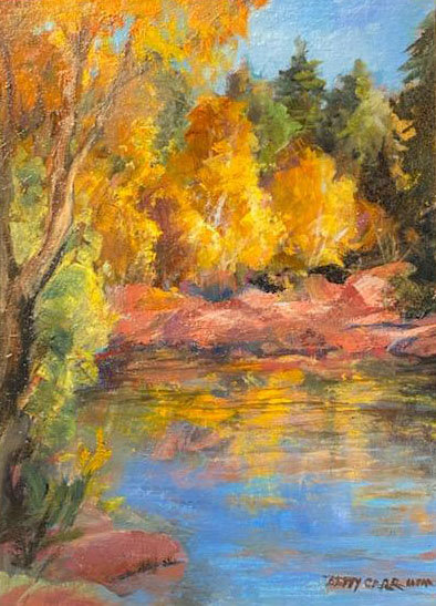 Autumn's Reflections by Betty Carr