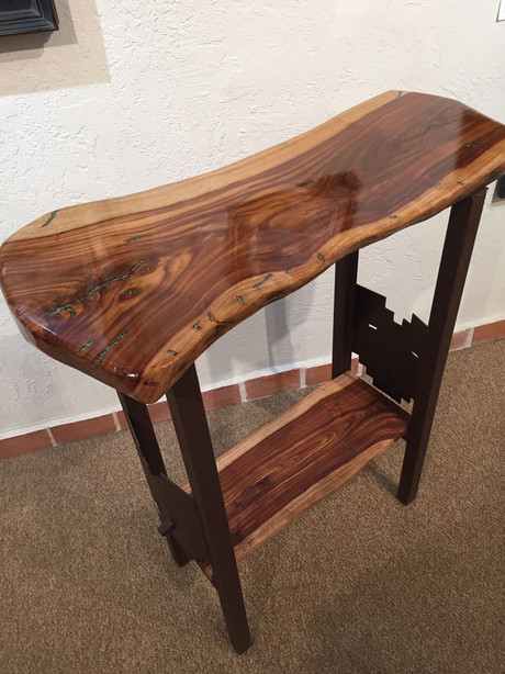 Kachina Table - Black Acacia