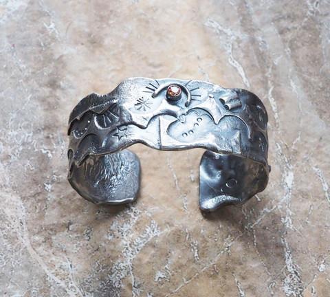 Eye of the Moon - Cuff Bracelet