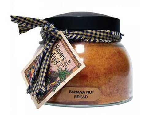 Banana Nut Bread Keepers of the Light 22oz Jar Candle