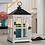 Thumbnail: Weathered White Wooden Candle Warmer Lantern