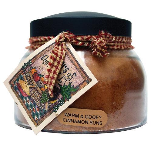Warm & Gooey Cinnamon Buns 22oz Jar Candle