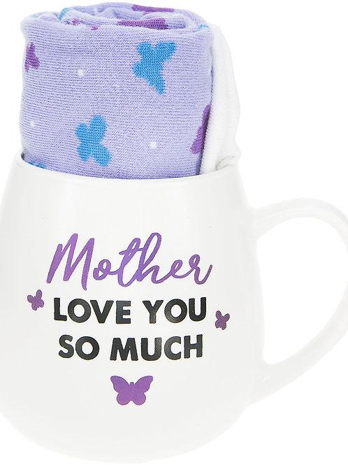 Mother - 15.5 oz Mug and Sock Set