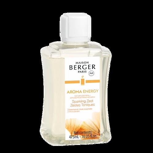 Aroma Energy Mist Diffuser Fragrance- Sparkling Zest 475ml