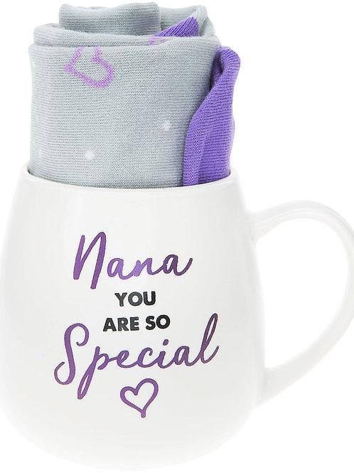 Nana - 15.5 oz Mug and Sock Set