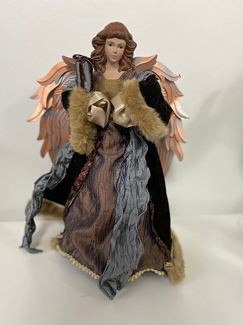 Bronze Angel Tree Topper