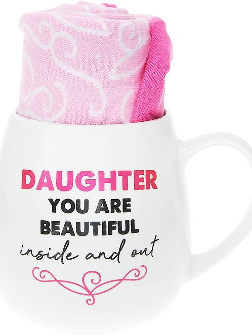 Daughter - 15.5 oz Mug and Sock Set