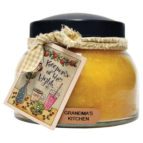 Grandmas Kitchen Keepers of the Light 22oz Jar Candle