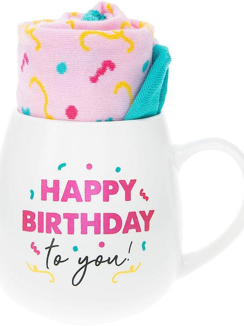 Birthday - 15.5 oz Mug and Sock Set