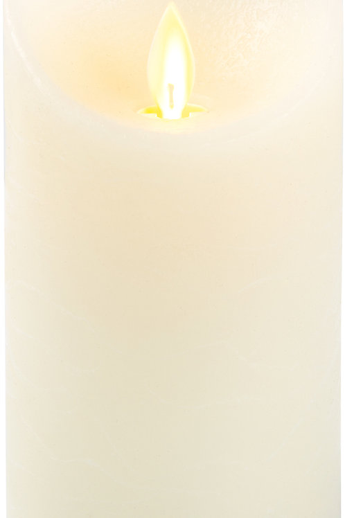 """Natural Candle - 5"""" Realistic Flame LED Lit Candle"""