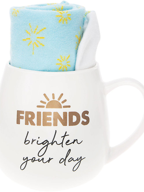 Friends - 15.5 oz Mug and Sock Set
