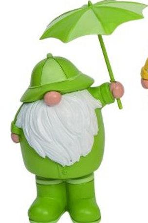Rain Boot Gnome Fig 4 x 3.5 x 7 in.