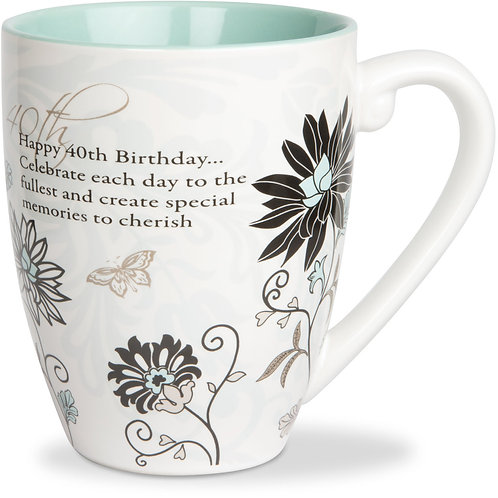 20oz Mug - Happy 40th Birthday