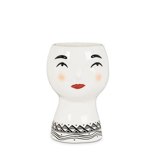 Pretty Lady Head Vase/Planter