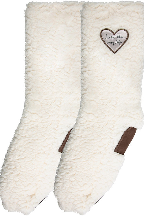 Cozy Life - One Size Fits Most Sherpa Slipper