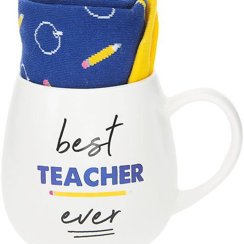 Teacher - 15.5 oz Mug and Sock Set