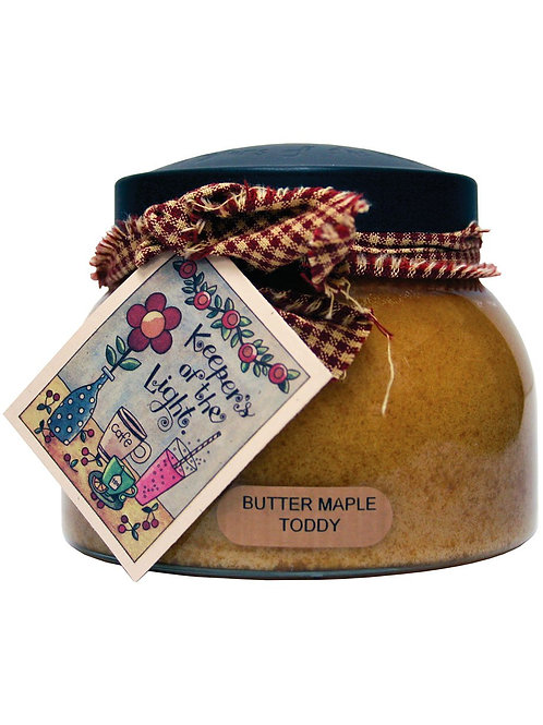 Butter Maple Keepers of the Light 22oz Jar Candle