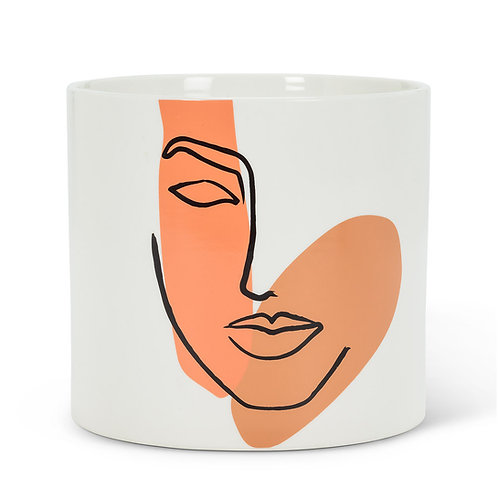 Large Modern Face Planter