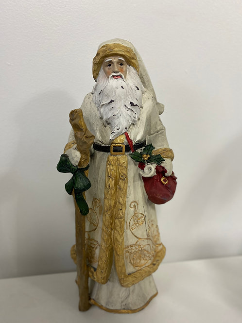 Santa Wooden Plaque