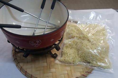 Fondue  AOP ( mélange fromages râpés)