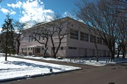 青森県立八戸高等学校第二体育館