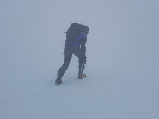 En montagne, un temps très perturbé en vue.