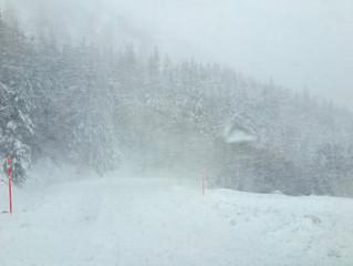 A venir : très perturbé, fort potentiel neigeux. Tempêtes.