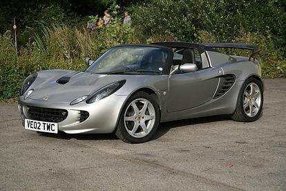 Lotus Elise S2 Silver