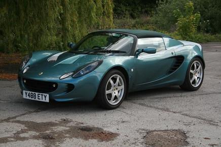 Lotus Elise S2 Green