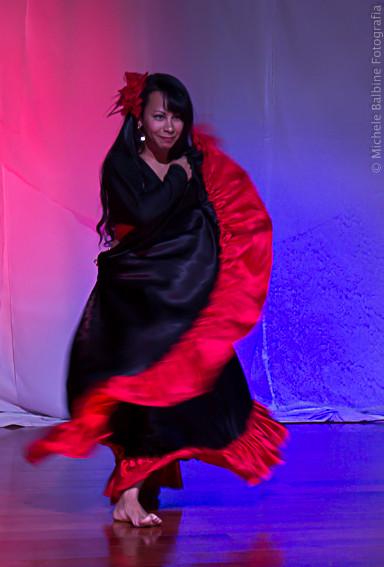 fotografia de espetáculo de dança