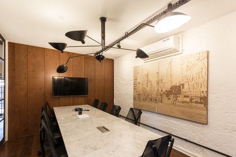 Fotografia corporativa - sala de reunião