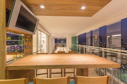 Fotografia de Arquitetura e Interiores - Varanda Gourmet