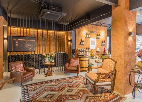 Fotografia de loja de vinhos