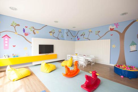 Fotografia de interiores - Brinquedoteca