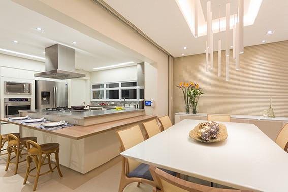 fotografia de interiores - projeto de cozinha e sala