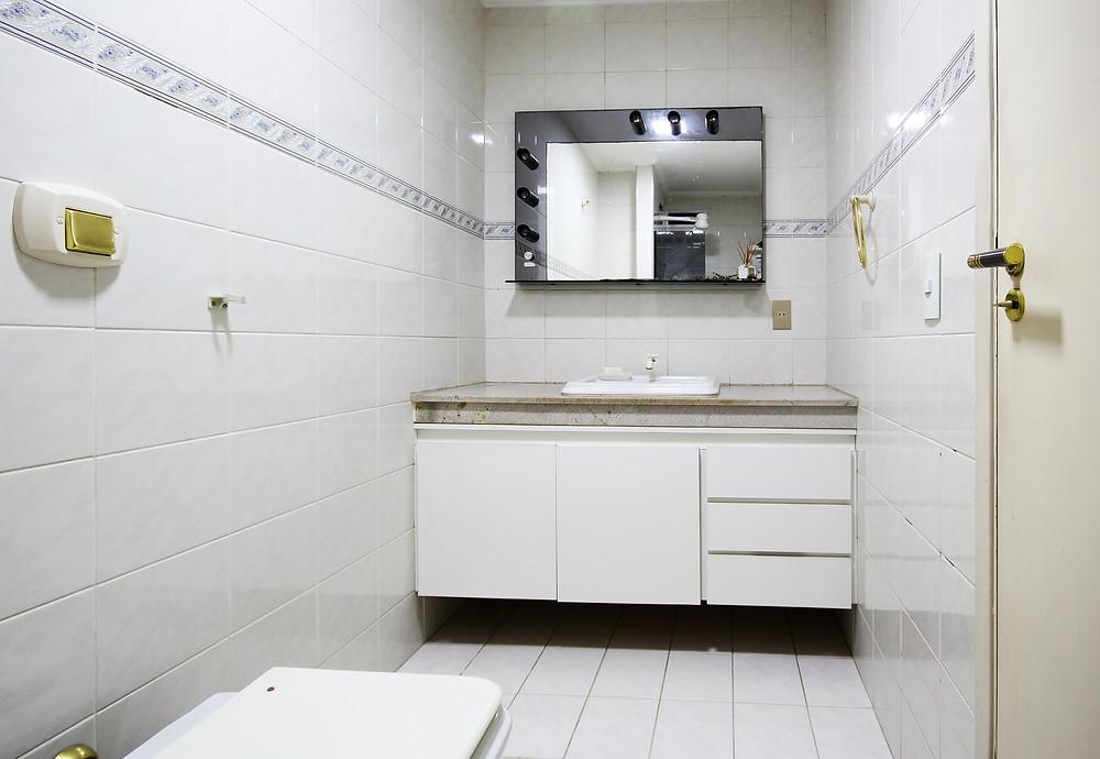 fotografia de banheiro projeto