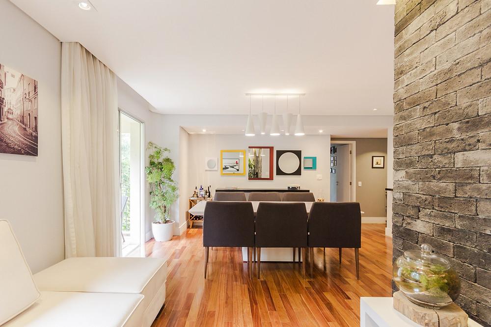 fotografia de sala de apartamento a venda no Panamby
