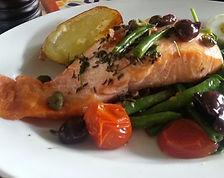 Zizis Kitchen Salmon