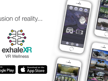 Exhale XR | VR Wellness app is Free May 7th-9th