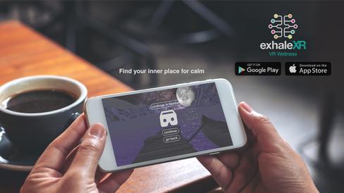Exhale XR | VR Wellness Mobile App