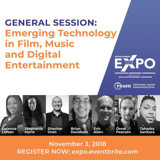 Panel at Dekalb Entertainment Expo 2018