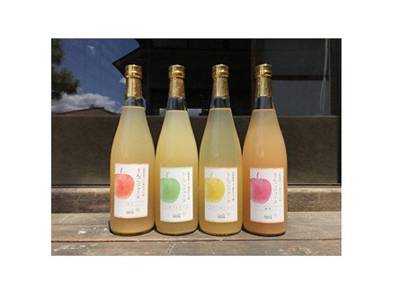 長野県産手搾りリンゴジュース 720ml