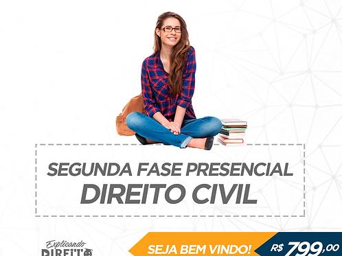2ª Fase Civil Presencial - Prof. Gustavo
