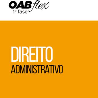 OABflex - Presencial - Isoladas - Administrativo