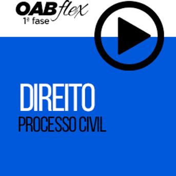 OABflex - ON LINE - Isoladas - Processo Civil