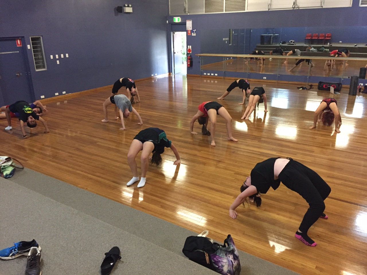 Flexible Acro Students 2016