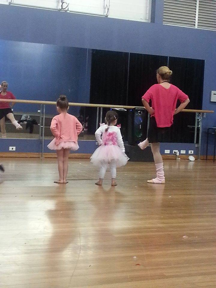 First Ballet Lesson